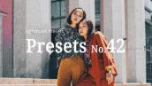 10 پریست لایت روم حرفه ای تم مدلینگ Fashion Model Lightroom Presets