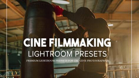 14 پریست لایت روم حرفه ای رنگ سینمایی Cine Filmmaking Lightroom Presets