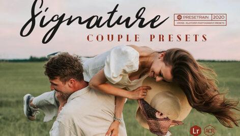20 پریست آماده عروسی برای لایتروم Signature Lightroom Presets