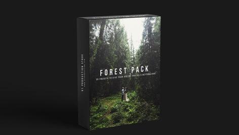 20 پریست حرفه ای لایت روم تم جنگل سبز K1 Forest Pack Presets
