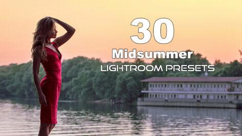 30 پریست لایت روم حرفه ای تم تابستان Midsummer Lightroom Presets