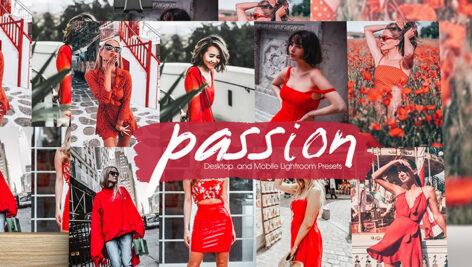 36 پریست لایت روم حرفه ای مدلینگ و فشن Passion Lightroom Presets
