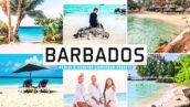 40 پریست لایت روم و پریست کمرا راو و اکشن فتوشاپ تم باربادوس Barbados Pro Lightroom Presets