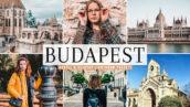 40 پریست لایت روم و پریست کمرا راو و اکشن فتوشاپ تم بوداپست پایتخت مجارستان Budapest Pro Lightroom Presets