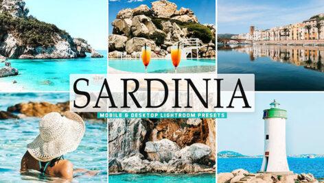 40 پریست لایت روم و پریست کمرا راو و اکشن فتوشاپ تم جزیره ساردنی ایتالیا Sardinia Pro Lightroom Presets