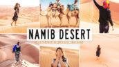 40 پریست لایت روم و پریست کمرا راو و اکشن فتوشاپ تم صحرای نامیب Namib Desert Pro Lightroom Presets