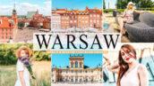 40 پریست لایت روم و پریست کمرا راو و اکشن فتوشاپ تم ورشو پایتخت لهستان Warsaw Pro Lightroom Presets