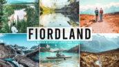 40 پریست لایت روم و پریست کمرا راو و اکشن فتوشاپ Fiordland Pro Lightroom Presets