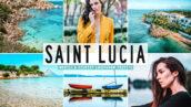40 پریست لایت روم و پریست کمرا راو و اکشن فتوشاپ Saint Lucia Pro Lightroom Presets