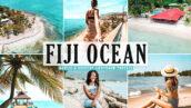 40 پریست لایت روم و کمرا راو و اکشن فتوشاپ تم اقیانوس فیجی Fiji Ocean Lightroom Presets