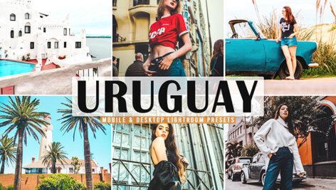 40 پریست لایت روم و کمرا راو و اکشن فتوشاپ تم اوروگوئه Uruguay Lightroom Presets