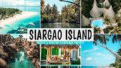40 پریست لایت روم و کمرا راو و اکشن فتوشاپ تم جزیره سیارگائو Siargao Island Lightroom Presets