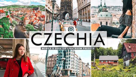 40 پریست لایت روم و کمرا راو و اکشن فتوشاپ تم جمهوری چک Czechia Lightroom Presets