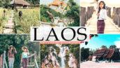 40 پریست لایت روم و کمرا راو و اکشن فتوشاپ تم لائوس Laos Lightroom Presets