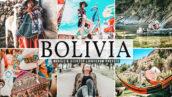40 پریست لایت روم و کمرا راو و اکشن فتوشاپ تم کشور بولیوی Bolivia Lightroom Presets