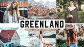 40 پریست لایت روم و کمرا راو و اکشن فتوشاپ تم گرینلند دانمارک Greenland Lightroom Presets