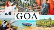 40 پریست لایت روم و کمرا راو و اکشن فتوشاپ تم گوا هندوستان Goa Lightroom Presets