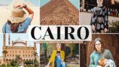 40 پریست لایت روم و Camera Raw و اکشن فتوشاپ تم قاهره Cairo Mobile & Desktop Lightroom Presets