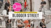 6 پریست لایت روم بلاگر تم عکاسی خیابانی Blogger Street Lightroom Presets