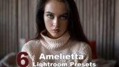 6 پریست لایت روم رنگ پاستلی دسکتاپ و موبایل Amelietta Lightroom Presets