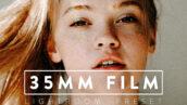 9 پریست حرفه ای لایت روم تم قدیمی 35MM FILM Premium Lightroom Preset