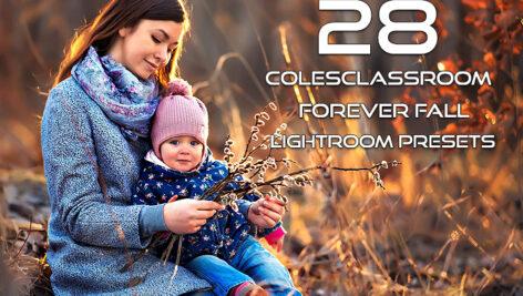 دانلود پریست پاییزی لایت روم حرفه ای Colesclassroom Forever Fall Lightroom Presets
