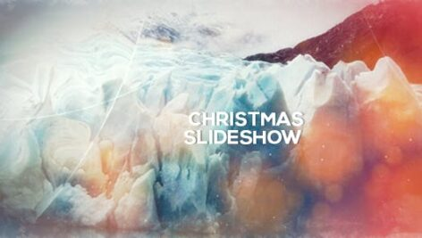 پروژه آماده افتر افکت اسلایدشو با موزیک Christmas Slideshow