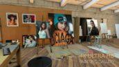 پروژه آماده افتر افکت هنری 2021 با موزیک Photos on canvas in an Artist studio