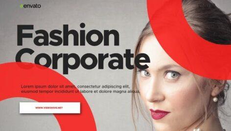 پروژه افتر افکت رزولوشن 4K معرفی شرکت در زمینه مدلینگ Fashion Corporate Presentation