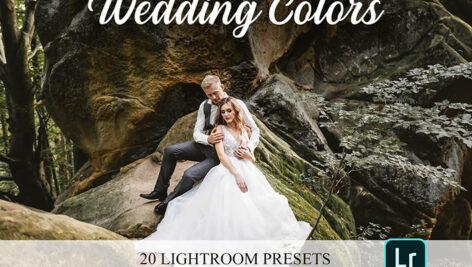 پریست لایت روم و براش لایت روم عروسی Wedding Colors Lightroom Presets