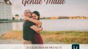 پریست لایت روم و براش لایت روم عکس پرتره : Gentle Matte Lightroom Presets