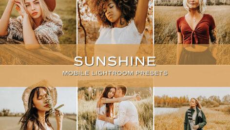 10 پریست لایت روم حرفه ای رنگی تم آفتابی Sunshine Lightroom Presets