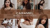 10 پریست لایت روم حرفه ای رنگی قهوه ای کارامل Caramel Lightroom Presets