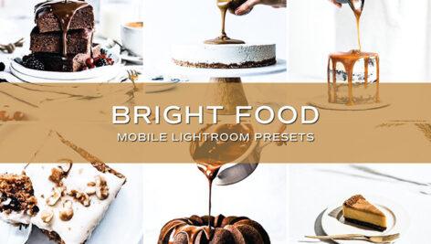 10 پریست لایت روم مواد غذایی تم روشن Bright Food Lightroom Presets