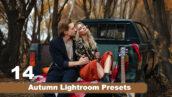 14 پریست پاییزی لایت روم دسکتاپ و موبایل Autumn Lightroom Presets