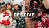 15 پریست لایتروم کریسمس عکاسی سال نو FESTIVE CHRISTMAS LIGHTROOM PRESETS