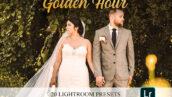 20 افکت رنگی لایت روم تم ساعت طلایی Golden Hour Lightroom Presets