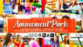 20 پریست لایت روم رنگی و اکشن و لات رنگی فتوشاپ Amusement Park Lightroom Presets