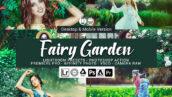 20 پریست لایت روم رنگی و لات رنگی و اکشن فتوشاپ Fairy Garden Lightroom Presets