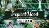 20 پریست لایت روم رنگی و لات رنگی و اکشن فتوشاپ Tropical Mood Lightroom Presets