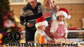 30 پریست لایت روم و پریست کمرا راو تم کریسمس CHRISTMAS Lightroom Preset