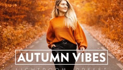 30 پریست لایت روم پاییز و پریست کمرا راو AUTUMN VIBES Lightroom Preset