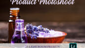 35 پریست لایت روم و براش لایت روم Product Photoshoot Lightroom Preset