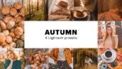 4 پریست لایت روم پاییز دسکتاپ و موبایل Autumn Lightroom Presets
