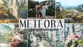 40 پریست لایت روم و کمرا راو و اکشن فتوشاپ تم طبیعت Meteora Pro Lightroom Presets