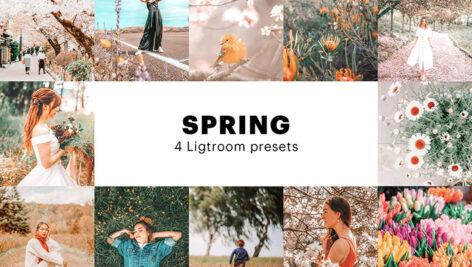 8 پریست لایت روم بهار دسکتاپ و موبایل Spring Lightroom Presets