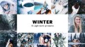 8 پریست لایت روم زمستان دسکتاپ و موبایل Winter Lightroom Presets