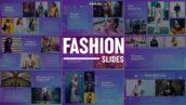 پروژه آماده افتر افکت اسلایدشو حرفه ای با موزیک Fashion Slides