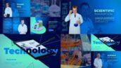 پروژه آماده افتر افکت با موزیک معرفی شرکت دارویی Medical Scientific Presentation