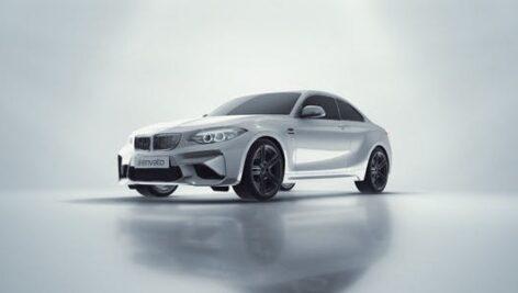 پروژه آماده افتر افکت لوگو 2021 نمایشگاه اتومبیل با موزیک Car Reveal